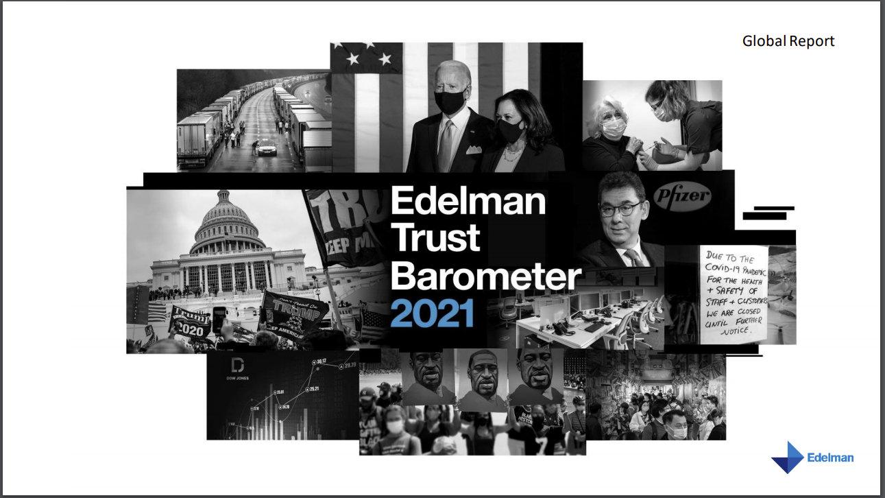 Barometrul de Încredere Edelman 2021